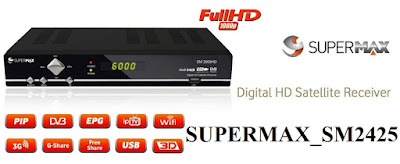 تحديث جديد لجهاز supermax SM 2425 و جهاز  Superplus  -  new update for supermax SM 2425 Superplus