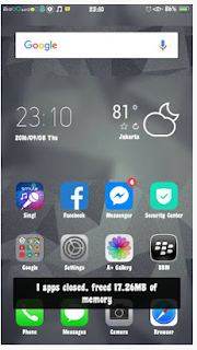 Tema iPhone 8 untuk Oppo A37