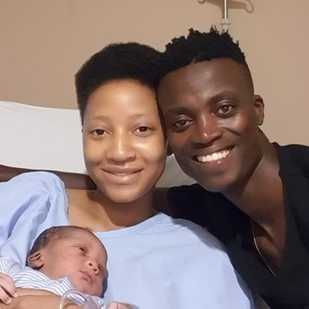 King Monada shares pictures of his newborn baby and fans encourage him to do DNA tests