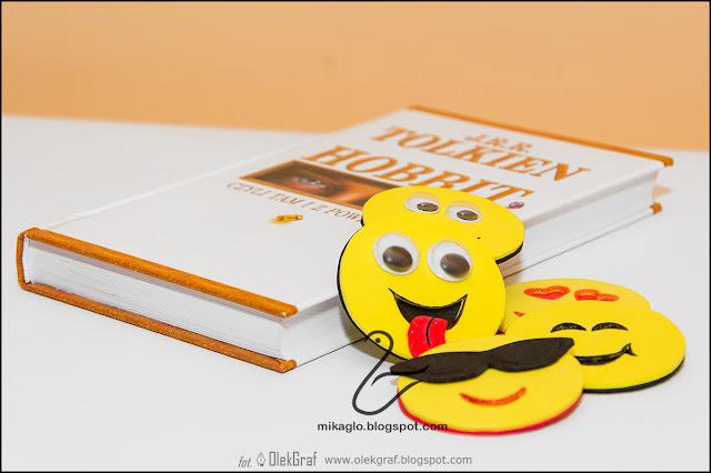 386. Emotikony zakładki / Hand made happy bookmarks