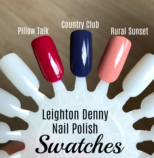 Leighton Denny Nail Polish Swatches