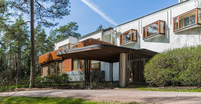 villa Mairea-Alvar Aalto-Finlandia-canne di bambù-arredo-architettura