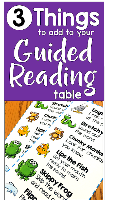 Need help teaching guided reading? This blog post provides many useful guided reading activities and strategies to use during guided reading. These resources will help you make the most of your time at the guided reading table. #guidedreading #guidedreadingfirstgrade