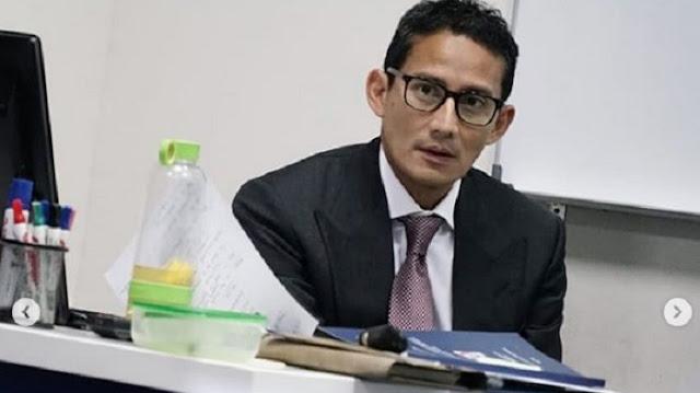Sandiaga Uno Benar-benar Pergi ke Bandung Temui Ridwan Kamil, Lihat yang Terjadi