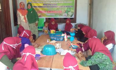 Dukung Penciptaan Lapangan Kerja Baru, PKBM Aminullah Gelar Pelatihan Kecakapan Wirausaha