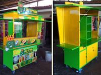 Booth Minuman - Gerobak Sop Durian unik - Jasa gerobak unik Rp 5.900.000