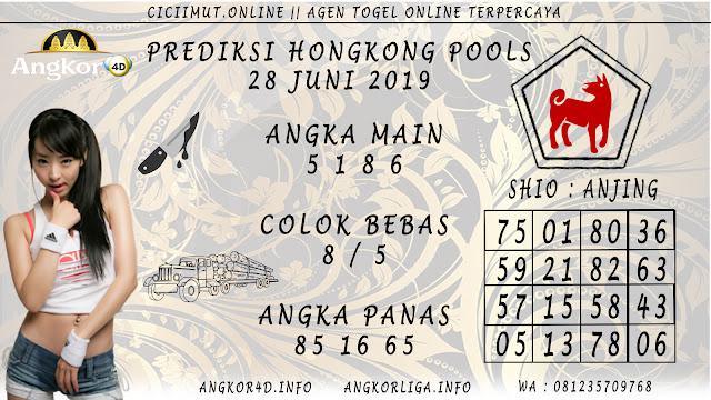 PREDIKSI HONGKONG POOLS 28 JUNI 2019