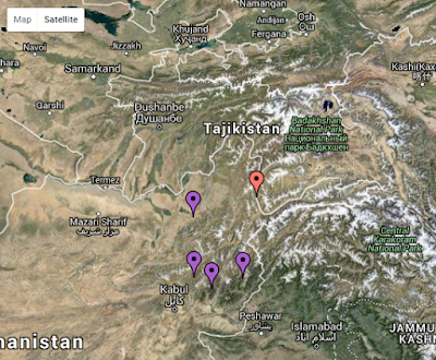 Largest Earthquake on 26 Oct 2015 in Pakistan