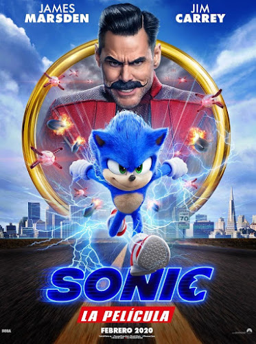 Sonic the Hedgehog (BRRip 1080p Dual Latino / Ingles) (2020)