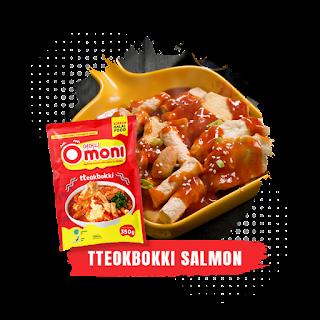 Omoni Tteokbokki Salmon
