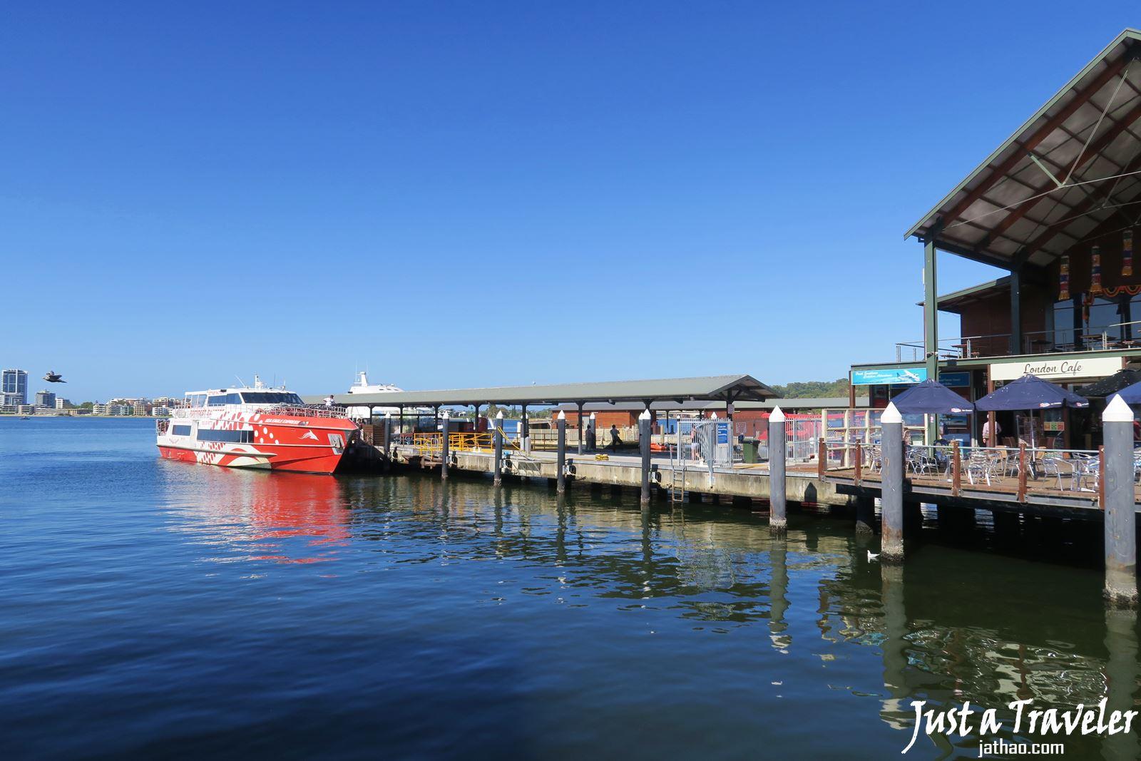 澳洲-西澳-伯斯-景點-羅特尼斯島-Rottnest Island-渡輪-港口-推薦-自由行-交通-旅遊-遊記-攻略-行程-一日遊-二日遊-必玩-必遊-Perth