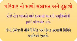 [Gujarat School] Parivar No Malo Date Wise 2021