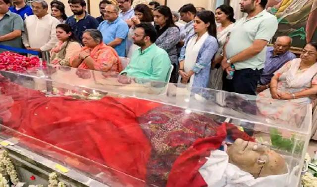 Senior BJP leader or Former Finance Minister Arun Jaitley Passes Away At 66