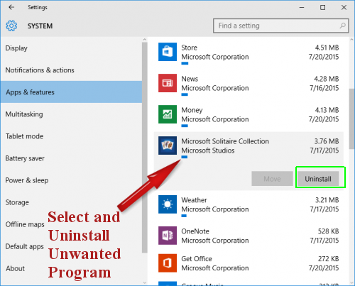 Delete .TEREN File Virus From Windows 10