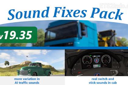 Sound Fixes Pack v19.35