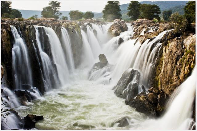 Hoggenakal Falls (Known as Niagara Falls of India)