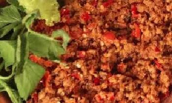 Sambal goreng oncom pedas menggugah selera makan karena rasa pedah membuat goyang lidah