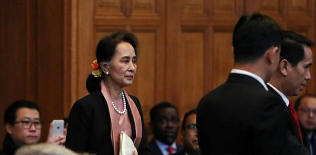 Tiba Di Pengadilan Internasional, Aung San Suu Kyi Akan Disidang Terkait Genosida Muslim Rohingya