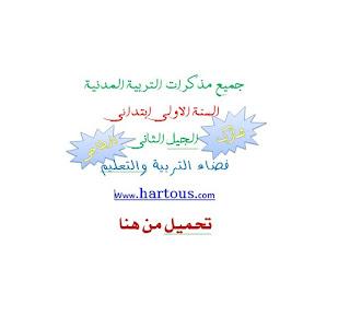 تحميل جميع مذكرات التربية المدنية للسنة الاولى كاملة من اعداد الاستاذ بن عبد القادر عبد الصمد