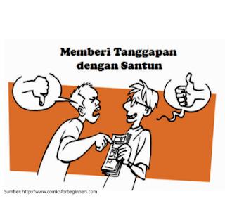 Pertanyaan Telaah Struktur dan Kebahasaan Teks Tanggapan, Bahasa Indonesia kelas 7 halaman 106