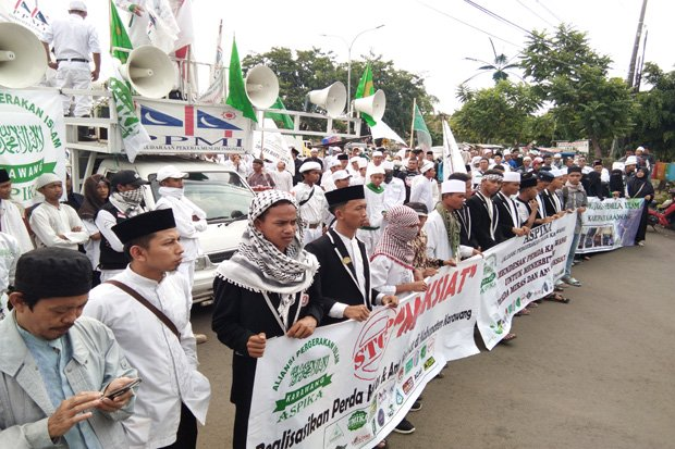 Ormas Islam di Karawang Desak Bupati Buat Perda Anti Maksiat