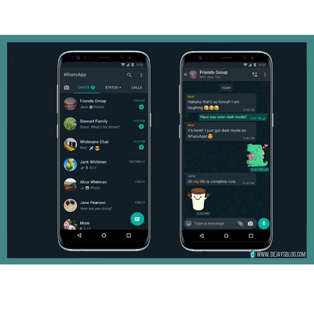 OFFICIAL: WhatsApp Dark Mode now available for iOS and Android!