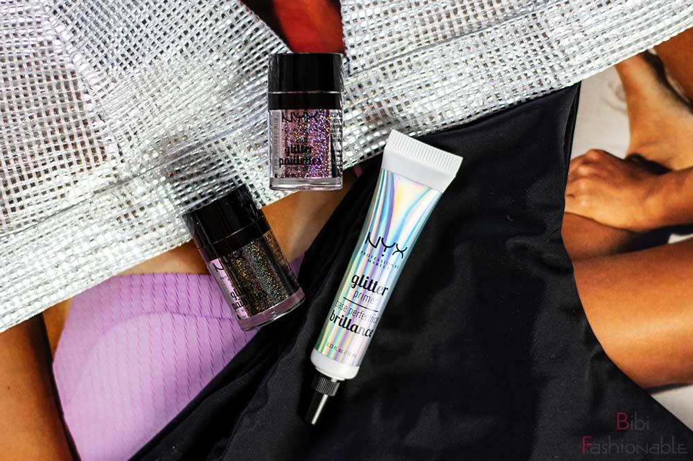 NYX Professional MakeUp glitter paillettes glitter primer