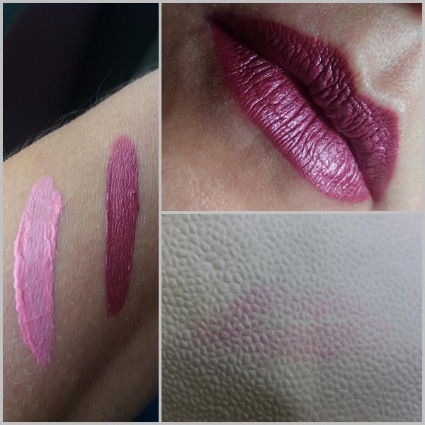 Batons líquido mate da Eudora: Pink atitude nos lábios.