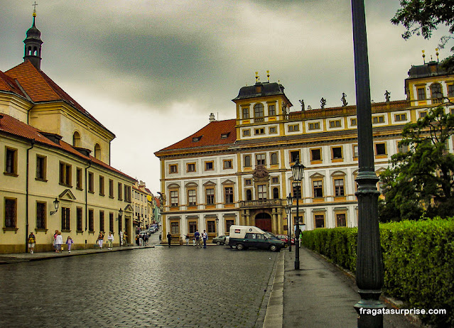 Palácio Toscano, na Praça do Bairro do Castelo, Praga