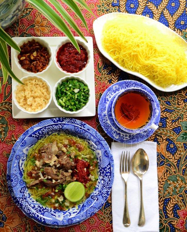 Resipi Mi Hoon Sup Utara Dapur Tanpa Sempadan