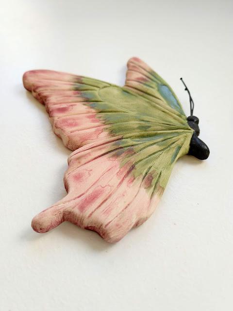 mariposa para decorar la pared