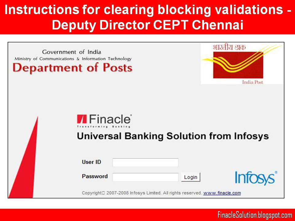 Instructions for clearing blocking validations - Deputy