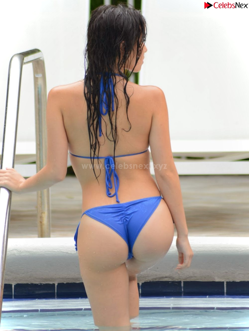 Lisa Opie Booty in sizzling bikini lovely booty sizzling CELEBRITYBOOTY.CO Exclusive Celebrity Pics