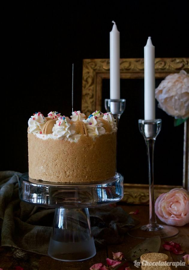 Cheesecake-de-chocolate-blanco-y-funfetti
