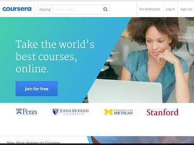 Coursera offers access to the world's best education in a partnership with top universities
