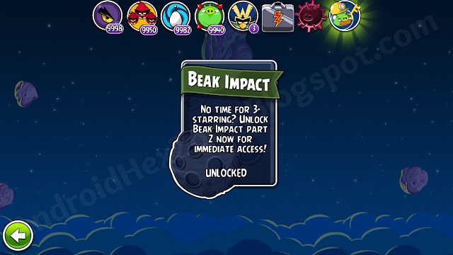 angry birds space save game android