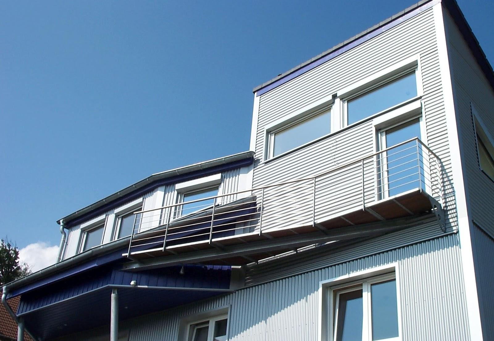 balkongel nder verzinkt pulverbeschichtet wohn design. Black Bedroom Furniture Sets. Home Design Ideas