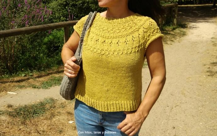 Con hilos, lanas y botones: Ranunculus de verano