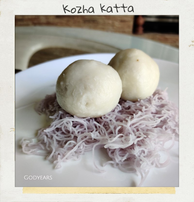 Kerala breakfast - kozha katta