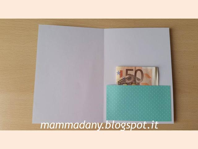 tasca porta soldi interna per card Prima Comunione
