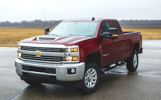 2018 Chevy Silverado 2500 Rumors