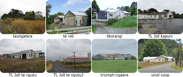 Taranaki dairy factories