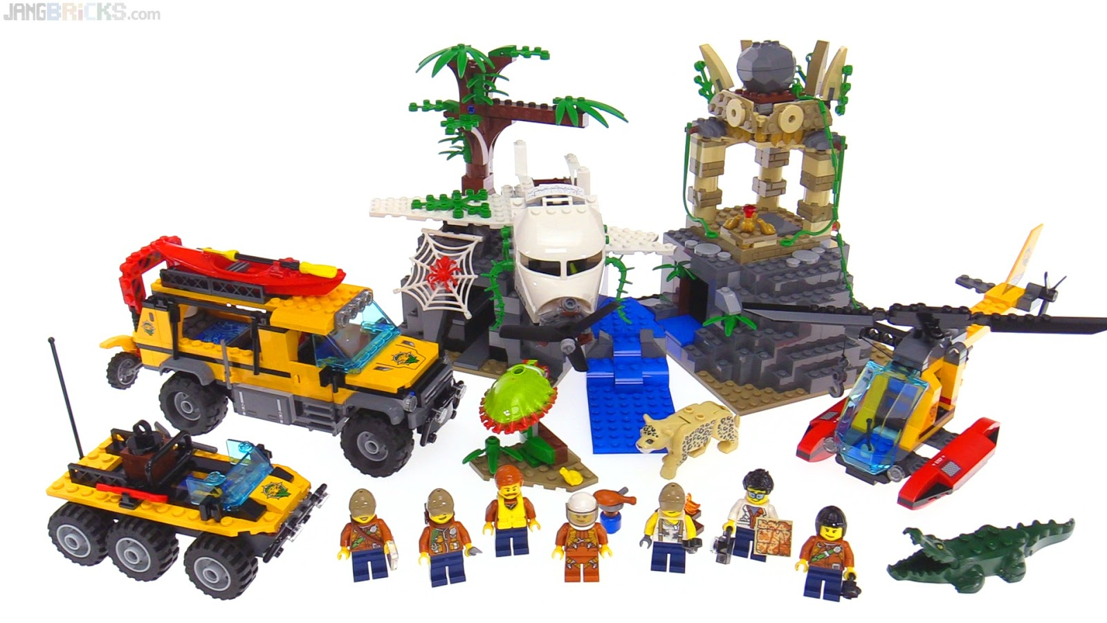lego city helicopter rescue with Lego City Jungle Exploration Site on Watch in addition Lego City Jungle Exploration Site additionally Poster Lego City Fire moreover Research Institute Official Images further Watch.