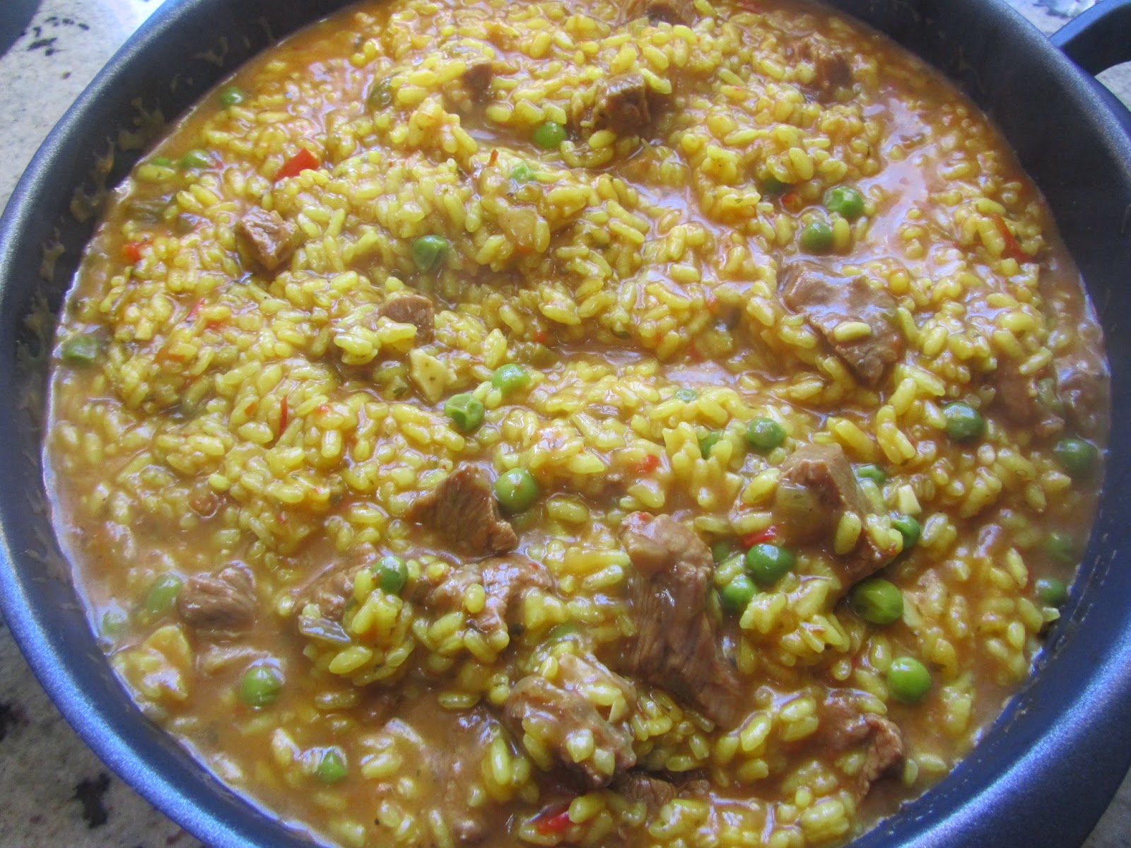 Arroz con ternera Thermomix