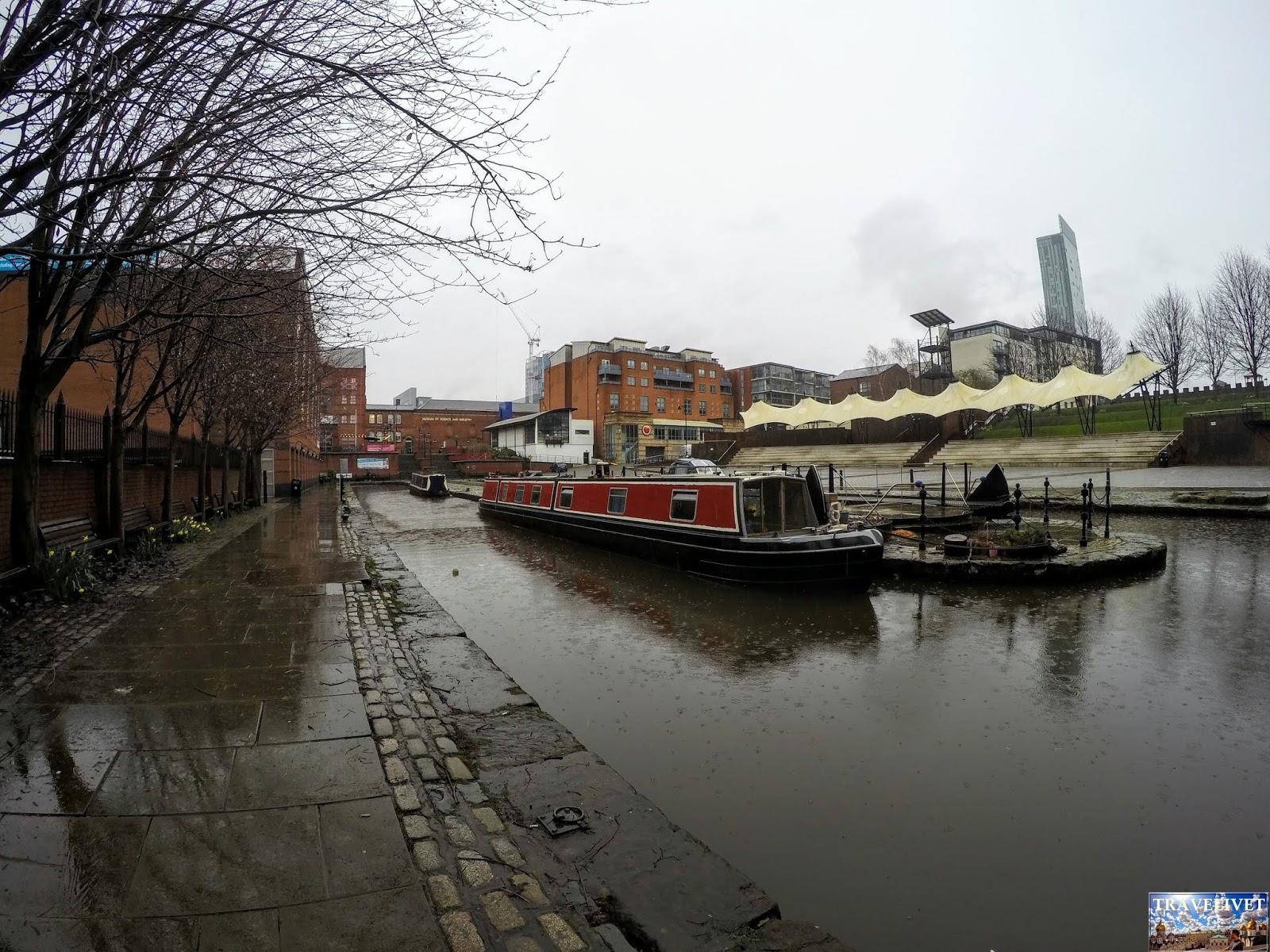UK Royaume Uni Manchester canal