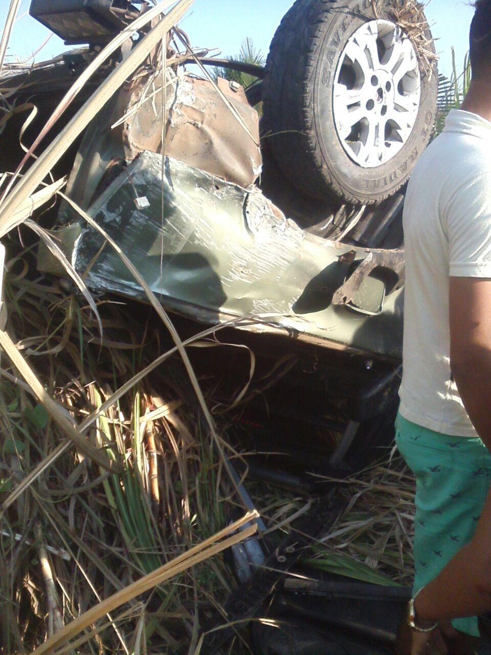 Grave acidente na entrada de Chapadinha - MA