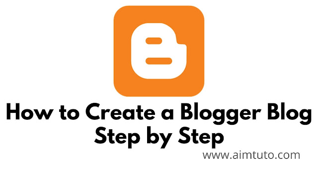 how to create a blogger blog step by step