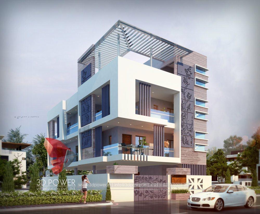 3d animation 3d rendering 3d walkthrough 3d interior for Latest bungalow