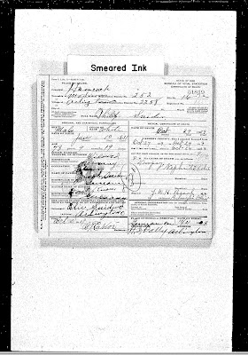 Climbing My Family Tree: Death Certificate for Philip Snider