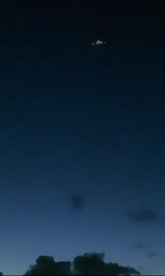 Vídeo: OVNI é registrado em céu nordestino e intriga internautas; confira!